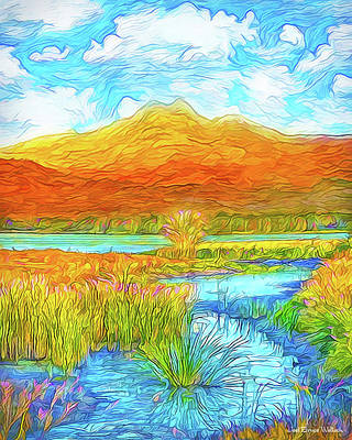 From Sky To Mountain To Stream - Boulder County Colorado Art Print