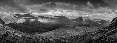 Photograph - From Slieve Bearnagh Panorama To The South by Glen Sumner