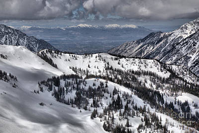 Photograph - From Snowbird To Salt Lake by Adam Jewell