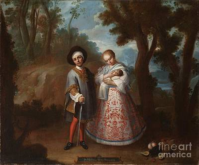 Spaniards Painting - From Spaniard And Albino by MotionAge Designs