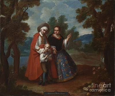 Spaniards Painting - From Spaniard And Morsica by MotionAge Designs
