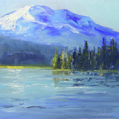 Painting - From Sparks Lake by Nancy Merkle