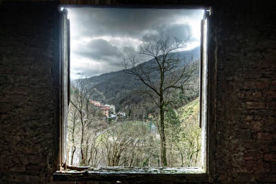 Photograph - From The Abandoned Building To The Football Ground by Enrico Pelos