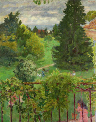 Painting - From The Balcony by Pierre Bonnard