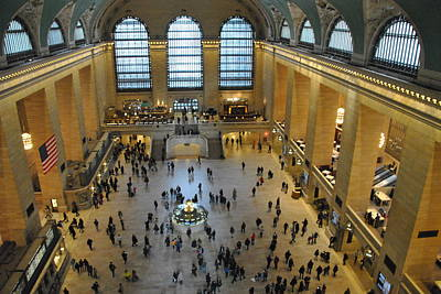 Photograph - From The Catwalk - Grand Central Terminal by Jacqueline M Lewis