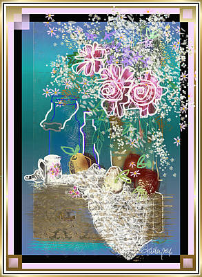 Digital Art - From The Cottage Garden  by Larry Talley