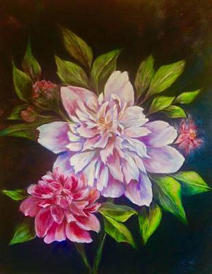 Painting - From The Garden by Anne Barberi