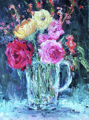 Painting - From The Garden by Jill Musser