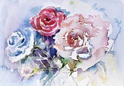 Painting - From The Garden by Mindy Newman