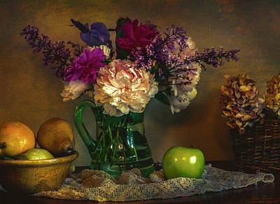 Photograph - From The Garden To The Table by John Rivera