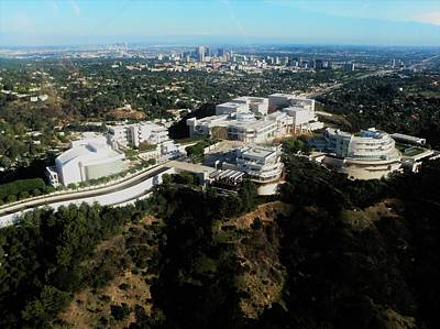 Photograph - From The Getty To Downtown L.a. by Daniele Smith