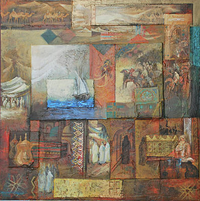 Mixed Media - From The History by Jaffo Jaffer