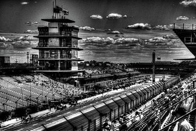 Indy Car Photograph - From The Hulman Suites  by Josh Williams