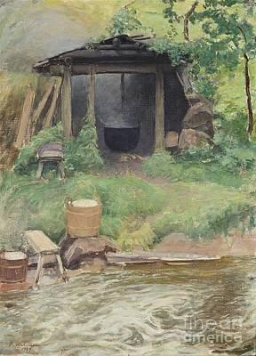 From The Kotakoski Rapids Art Print