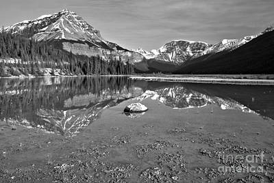 Photograph - From The Lakeshore To Chephren Peak by Adam Jewell