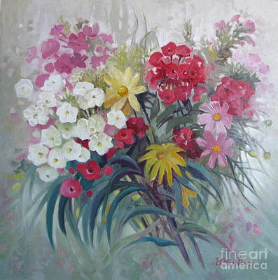 Painting - From The Margaret Garden by Elena Oleniuc