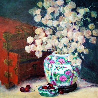 Painting - From The Orient by Jill Musser