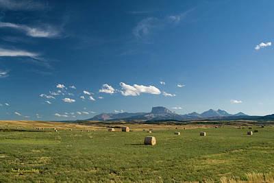 Photograph - From The Prairie To The Rockies by Tom Buchanan