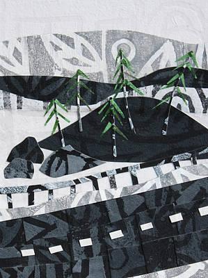Mixed Media - From The Road #3 by Janyce Boynton