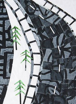 Mixed Media - From The Road #6 by Janyce Boynton