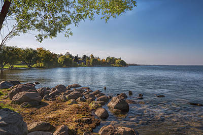 Photograph - From The Shores Of Leech Lake by John M Bailey