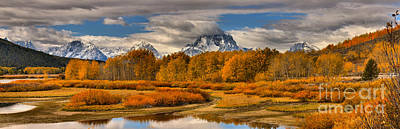 Photograph - From The Snake River To Mt. Moran by Adam Jewell