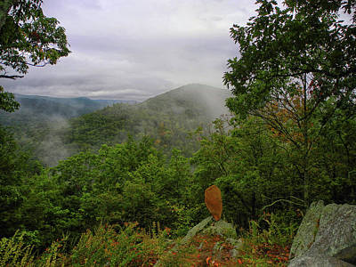 Photograph - From The Summit Of Breadload Mountain In Connecticut by Raymond Salani III
