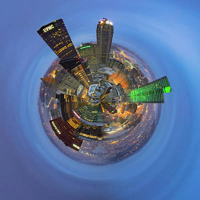 Photograph - From The Top Of Ppg Little Planet  by Emmanuel Panagiotakis