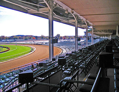 From The Viewing Stands Art Print