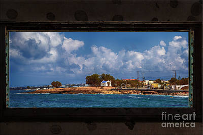 Photograph - From The Window by Antonis Androulakis