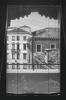 Photograph - From The Window Of A Venetian Apartment by Fine Art Photography Prints By Eduardo Accorinti