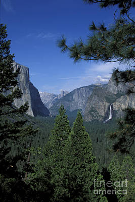 Art Print featuring the photograph From Tunnel View In Spring by Stan and Anne Foster