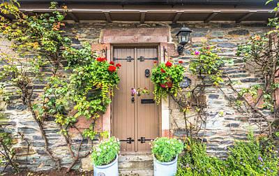 Photograph - Front Door by Bill Howard