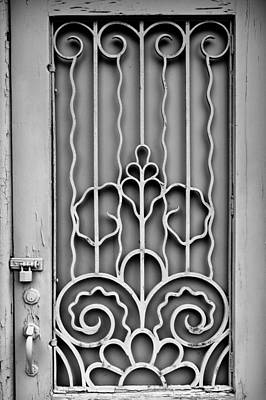 Photograph - Front Door Detail by Colleen Kammerer