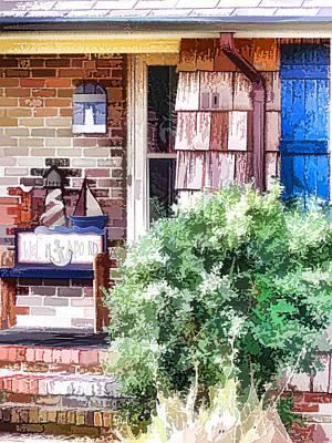 Front Door Art Print by Lanjee Chee