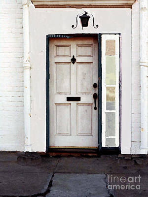 Photograph - Front Door - New Orleans by Merton Allen