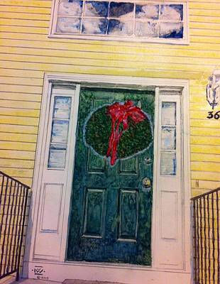 Front Door Original by Nigel Wynter