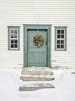 Front Door Of An Old Colonial Home Art Print