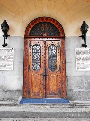 Photograph - Front Door Of The Prefecture Palace by Erika H
