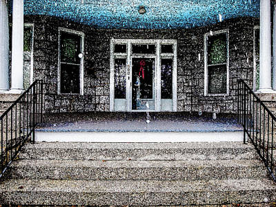 Photograph - Front Door by Randy Sylvia