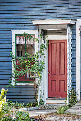 Front Door Three Art Print by Suzanne Bauer Photography