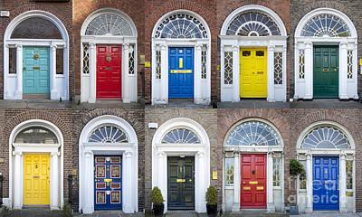 Photograph - Front Doors Of Dublin by Brian Jannsen