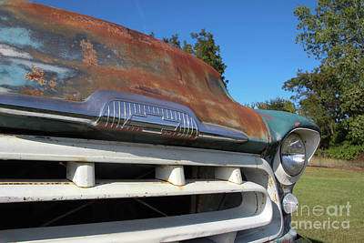 Front Grill Art Print by Laura Deerwester