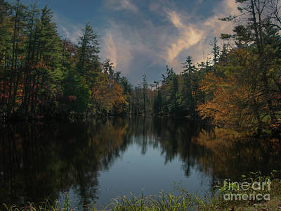 Photograph - Front Lake In Flat Rock Nc by Dale Powell