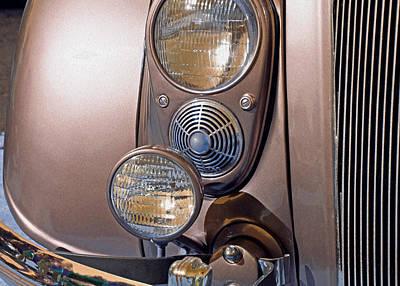 Photograph - Front Lamps 5 by Lynda Lehmann