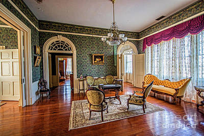 Photograph - Front Parlor 5327t by Doug Berry
