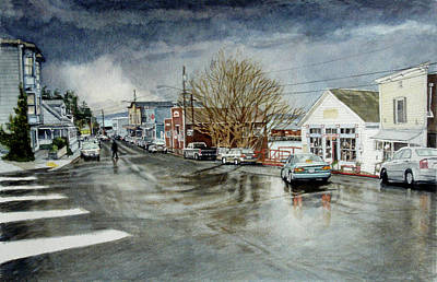 Front Art Print by Perry Woodfin