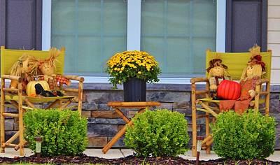 Front Porch Art Print by Cynthia Guinn