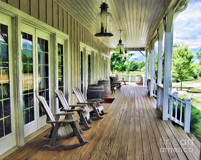 Photograph - Front Porch  by Kerri Farley