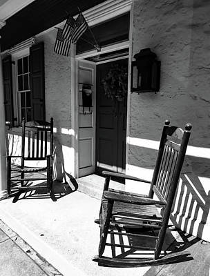 Photograph - Front Porches by Kathi Isserman